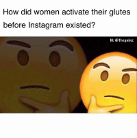 Or the 90s? Since it's such a big thing now. I guess females in the 90s and early 2000s didn't grow their booty to it's full potential? 🤔 food for thought: How did women activate their glutes  before Instagram existed?  IG: @thegainz Or the 90s? Since it's such a big thing now. I guess females in the 90s and early 2000s didn't grow their booty to it's full potential? 🤔 food for thought