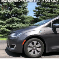 Memes, 🤖, and How: HOW DIFFERENT PLAYERS PULL UP FOR CAMP All my teammates pull up to camp in different ways!!  How would you pull up? https://t.co/oM4kdwKvUp