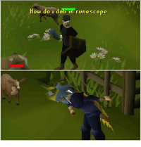 How do i dab in runescape