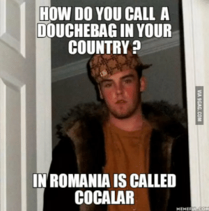 Douchebag, Romania, and How: HOW DO YOU CALL A  DOUCHEBAG IN YOUR  COUNTRY  IN ROMANIA IS CALLED  MEMEFUL CO Im very curious at this point