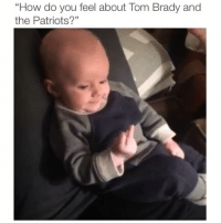 "Memes, Paradise, and Patriotic: ""How do you feel about Tom Brady and  the Patriots?"" Is Brady the goat or not? Credit: @therealnickparadise @maddie_paradise @therealwhitparadise"
