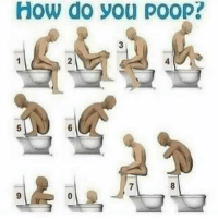 Wtf: How do you poop? Wtf
