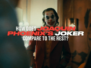There have been many portrayals of everyone's favourite villain, the Joker, but how does Joaquin Phoenix's version compare to others? 🃏📽️: HOW DOES ACUIN  PHOENIXS JOKER  COMPARE TO THE REST? There have been many portrayals of everyone's favourite villain, the Joker, but how does Joaquin Phoenix's version compare to others? 🃏📽️