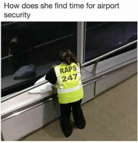 God, Rap, and Rap God: How does she find time for airport  security  RAPS  247 Rap God