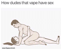Sex, Vape, and How: How dudes that vape have sex  @openlygayanimals