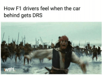 Memes, F1, and 🤖: How F1 drivers feel when the car  behind gets DRS  wtf1 Stroll on the last lap in Baku 😁 f1 formula1 wtf1