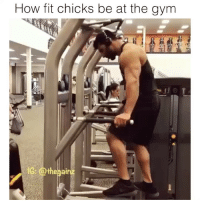 Tbt fitspo: How fit chicks be at the gym Tbt fitspo