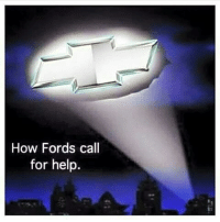 How Fords call  for help.