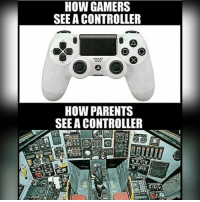 Memes, 🤖, and Gamer: HOW GAMERS  SEE A CONTROLLER  O O  HOW PARENTS  SEE A CONTROLLER 😂😂😭I would inhale the fucking toast, would you eat the perfect toast for $18 billion? ❤️: Please leave a like much appreciated 🔥Hashtags: gaming gamergirl gamer videogames nerd noob nintendo nintendoswitch mario forhonor worldofwarcraft youtube game games videogameaddict psn xboxlive stunts esports multiplayer pewdiepie controller memesdaily zelda pokemon pokemongo comedy funny wow lol 😎Credit: