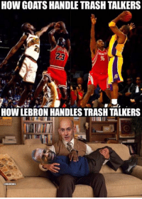 LeBron James haters right NOW. Credit: Lebron James Haters UNITED: HOW GOATSHANDLE TRASH TALKERS  HOW LEBRON HANDLESTRASH TALKERS  aNBAMEMES LeBron James haters right NOW. Credit: Lebron James Haters UNITED