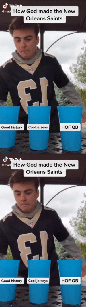 How God made the New Orleans Saints... 😂 https://t.co/F9Id7knYkD: How God made the New Orleans Saints... 😂 https://t.co/F9Id7knYkD
