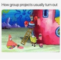 How, Group, and Projects: How group projects usually turn out