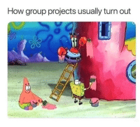 Work, How, and Group: How group projects usually turn out Group work
