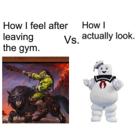 Sadly accurate. . @DOYOUEVEN 👈🏼 25% OFF CLICK FRENZY SALE - use code 'FRENZY' 🎉🚚 just tap the link in our BIO ✔️: How I feel after  How I  vs. actually look  leaving  the gym Sadly accurate. . @DOYOUEVEN 👈🏼 25% OFF CLICK FRENZY SALE - use code 'FRENZY' 🎉🚚 just tap the link in our BIO ✔️