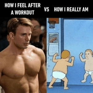 How, Workout, and Really: HOW I FEEL AFTER  VS  HOW I REALLY AM  A WORKOUT