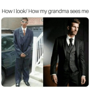 Such A Handsome Young Man  : How I look/ How my grandma sees me  Such A Handsome Young Man
