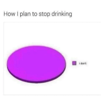 Drinking, How, and Stop: How I plan to stop drinking  i don't