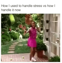 Funny, How, and Stress: How I used to handle stress vs how I  handle it now If you @masturbate follow @masturbate 🔞