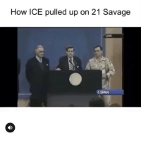Funny, Savage, and Free: How ICE pulled up on 21 Savage  LIVE  CSPAN Free that man 21 crumpets