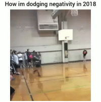 Be Like, Meme, and Memes: How im dodging negativity in 2018 Twitter: BLB247 Snapchat : BELIKEBRO.COM belikebro sarcasm meme Follow @be.like.bro