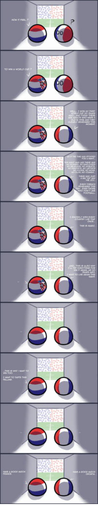 "<p>Winning the world cup : how it feels</p>: HOW IT FEEL P  TO WIN A WORLD CUPP  WeLL.I WON MY FIRST  WORLD cuP 20 YEARS  OLO IN 98 AND THEY  P THE TWE HAS STOPPED  NO OLOS, NO YOLINGS  THERE WAS SUST  EVERY FRENCH  EVEN THOSE  WHO DON'T LIKE  COUNTRY LIVE THAT  THIS IS MAGIC  ANO"" THIS IS ALSO WHY  WIN IT AGAIN, AS 20  YEARS AGO  I WANT TO LIVE AGAN THIS  THIS I5 WHY I WANT TO  WIN TOO.  I WANT TO TASTE THIS  HAVE A G000 MATCH  HAVE 6000 ATCH <p>Winning the world cup : how it feels</p>"