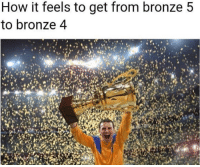 same for diamond 5 to diamond 4.. xd  Wristband giveaway type NUGGET in Twitch chat => www.twitch.tv/wingolos: How it feels to get from bronze 5  to bronze 4 same for diamond 5 to diamond 4.. xd  Wristband giveaway type NUGGET in Twitch chat => www.twitch.tv/wingolos