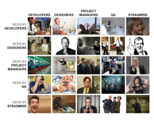 How IT people see each other: How IT people see each other