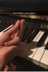 Memes, Piano, and 🤖: How Italians play piano Submit ya best spicy meatballs here