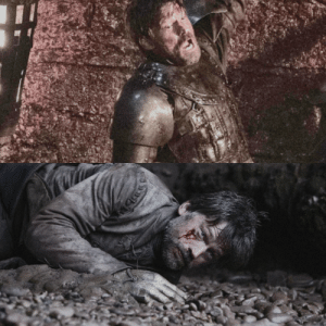 Jaime Lannister, Time, and How: How Jaime Lannister was attacked by thousands of armed wights at the same time and finished the Battle unharmed, but he suddenly fights TV Show Euron and almost got killed by him?