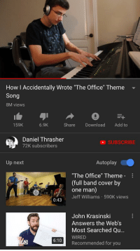 the office theme download