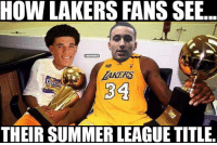 The next great Laker duo. #LakeShow: HOW LAKERS FANS SEB  THEIR SUMMER LEAGUE TITLE The next great Laker duo. #LakeShow