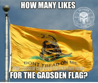 Cold Dead Hands: HOW MANY LIKES  AABB  ON ME  DON  FOR THE GADSDEN FLAG?  inngflip com Cold Dead Hands