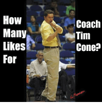 Filipino (Language), Ginebra, and How: How  Many  Likes  For  Coach  Tim  Conep How many likes for this amazing coach? 😊👍 -A. #CoachTim❤👑
