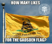PASS IT ON! -- Cold Dead Hands 2nd Amendment gear: cdh2a.com/shop: HOW MANY LIKES  MOA  ABE  DON  D ON ME  FOR THE GADSDEN FLAG? PASS IT ON! -- Cold Dead Hands 2nd Amendment gear: cdh2a.com/shop