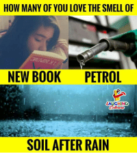 petrol: HOW MANY OF YOU LOVE THE SMELL OF  NEW BOOK PETROL  LAUGHING  SOIL AFTER RAIN