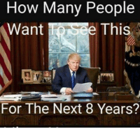 Change is coming, folks!: How Many People  Want  e This  For The Next 8 Years? Change is coming, folks!