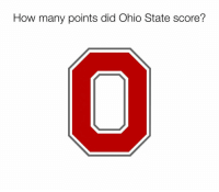 Ohio State: How many points did Ohio State score?