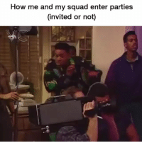 😂😂🕺🏾🕺🏾 tbt funniest15 viralcypher funniest15seconds Follow @viralcypher Www.viralcypher.com: How me and my squad enter parties  (invited or not) 😂😂🕺🏾🕺🏾 tbt funniest15 viralcypher funniest15seconds Follow @viralcypher Www.viralcypher.com