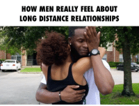 Bae, Funny, and Lol: HOW MEN REALLY FEEL ABOUT  LONG DISTANCE RELATIONSHIPS Can you do a long distance relationship?! ➖➖➖➖➖➖➖➖➖➖➖➖➖➖➖➖➖ Follow - @iamjnsb @mrphillwade Get your hand made @livefour24 bands now! ➖➖➖➖➖➖➖➖➖➖➖➖➖➖➖➖➖ bae love happy sad lol haha skit repost wshh worldstar rob tagsforlikes tag funny cry comedy actor b ladies women reationship hair sexy bwattstv