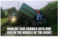The Middle, Sleep, and How: HOW MY SON CRAWLS INTO OUR  BED IN THE MIDDLE OF THE NIGHT Can't get no sleep