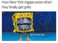 If this ain't true lmao 😭😂 I'm trynna reach 9k by tomorrow y'all 😤 Each day we get closer to 10k 💖 · · ▶▶▶Follow @DRAMUP for more funny memes daily ✔🔥: How New York niggas pose when  they finally get grills  @Why hesavage If this ain't true lmao 😭😂 I'm trynna reach 9k by tomorrow y'all 😤 Each day we get closer to 10k 💖 · · ▶▶▶Follow @DRAMUP for more funny memes daily ✔🔥