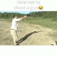 Friends, Guns, and Memes: How not to  shoot a gun Lesson 101 Tag friends & Follow 🔊 👉🏽 @unclesamsmisguidedchildren - UncleSamsMisguidedChildren tactical military weapons guns getafterit militarymuscle 2ndamendment secondammendment 2A SemperFi airforce USMC navy army guncontrol veteranlife coastguard airforce concealedcarry opencarry gunsofinstagram militarylife igmilitia ar15 iggunslingers pewpew ccw Pewpewpew shallnotbeinfringed MolonLabe