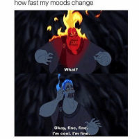 Love, Cool, and Good: how rast my moods change  What?  Okay, fine, fine.  I'm cool. I'm fine. Hey guys if you like nostalgic posts that'll make you feel all warm & fuzzy inside and remind you of your childhood, checkout @childhoodmemorie.s it's an account a good friend of mine runs. Much love, hope you guys have a good day. 💕💕💕💕 @childhoodmemorie.s