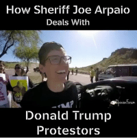 Conservative, Sheriff, and Right Wing: How Sheriff Joe Arpaio  Deals With  inionforum.  Donald Trump  Protestors This is what happens when you block traffic. You get arrested. Simpletons... @opinionforum liberalismisamentaldisorder protest trumpmemes trumpprotest liberals libbys democraps liberallogic liberal ccw247 conservative constitution presidenttrump resist stupidliberals merica america stupiddemocrats donaldtrump trump2016 patriot trump yeeyee presidentdonaldtrump draintheswamp makeamericagreatagain trumptrain maga Add me on Snapchat and get to know me. Don't be a stranger: thetypicallibby Partners: @theunapologeticpatriot 🇺🇸 @too_savage_for_democrats 🐍 @thelastgreatstand 🇺🇸 @always.right 🐘 TURN ON POST NOTIFICATIONS! Make sure to check out our joint Facebook - Right Wing Savages Joint Instagram - @rightwingsavages Joint Twitter - @wethreesavages Follow my backup page: @the_typical_liberal_backup