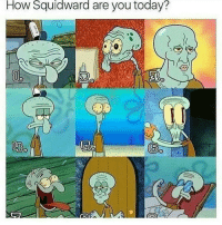 "Memes, 🤖, and Page: How Squidward are you today?  A so there's this girl and literally I hate her so much I follow her on my main and she's SO annoying like she jumps from one boy to another and I think rn she's ""dating"" some girl 💀 (btw were in middle school) so literally she ""cuts herself"" and ran away from home (lol not rly) bc of this girl that told her about herself and she posts pics of her cutting herself like please seek help I know your narcissistic and all but still, also if u think I'm being rude you guys don't know her and don't follow her page so -: sorry I just had to rant bc she's so annoying -molly"