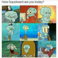 Bobby Hill: How Squidward are you today? Bobby Hill