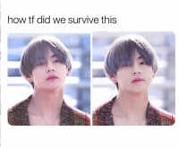 Pitiful, Bts, and Mercy: how tf did we survive this #BTS #TAEHYUNG He has no mercy for our pitiful souls