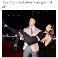 @victoriajustice explain yourself (TAG HER) ⬇️⬇️⬇️ Follow @icecoldsavage for more: How tf Victoria Justice floating in mid  air? @victoriajustice explain yourself (TAG HER) ⬇️⬇️⬇️ Follow @icecoldsavage for more