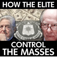Memes, 🤖, and Ame: HOW THE ELITE  NTELLIGE  GENCE  䍃  OF AME  CONTROL  THE MASSES  GENCY  VD187  002 7s 5275  UNITE