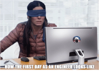 Engineering, How, and Engineer: HOW THE FIRST DAY AS AN ENGINEER LOOKS LIKE